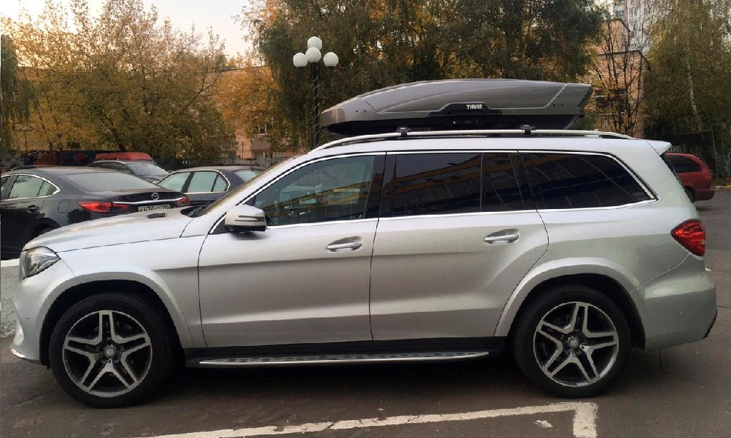 Бокс Thule Motion XT XL на авто