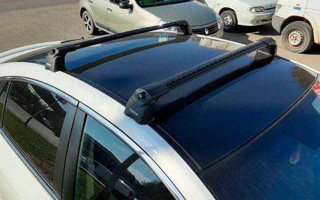 Багажник Turtle Air 3 Black в штатные места