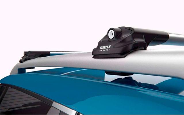 Багажник Turtle Air 1 для обычных рейлингов