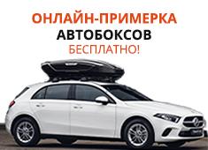 Онлайн-примерка автобоксов бесплатно