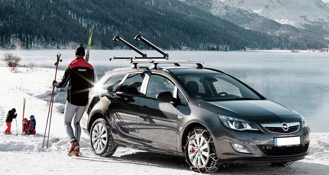 лыжные крепления на автомобиле