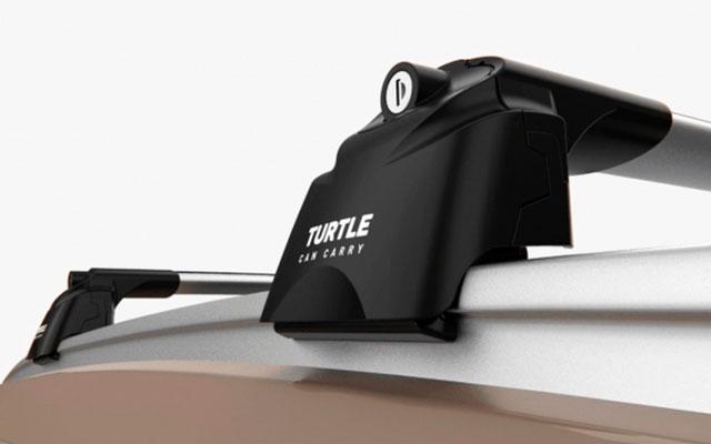 Багажник Turtle Air 2 для интегрированных рейлингов