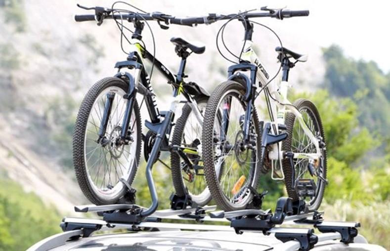 велокрепление с фиксацией за раму