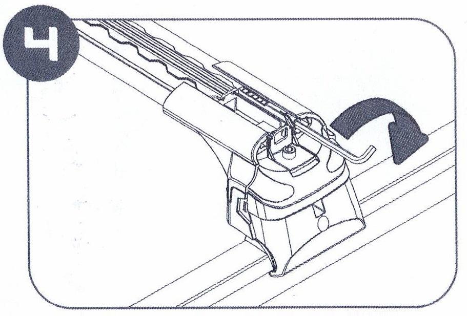 Болт, фиксирующий дугу на месте