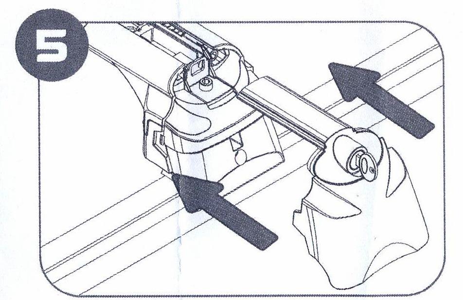 Закрытие крышек опор